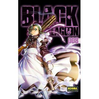 Black Lagoon #08 Manga Oficial Norma Editorial