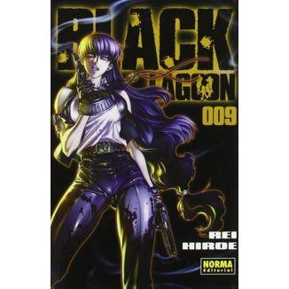 Black Lagoon #09 Manga Oficial Norma Editorial