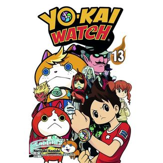 Yo-Kai Watch #13 Manga Oficial Norma Editorial
