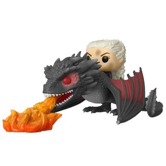 Funko Daenerys en Fiery Drogon Juego De Tronos POP!