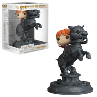 Ron Riding Chess Piece Figure Harry Potter POP! Movie Moments