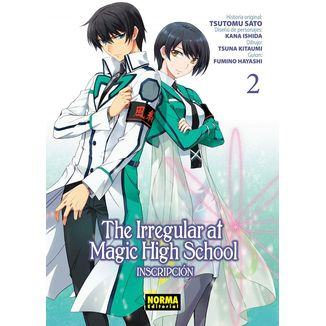 The Irregular At Magic High School #02 Manga Oficial Norma Editorial