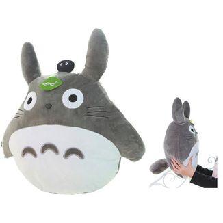 Plush Pillow Totoro Black 50cm