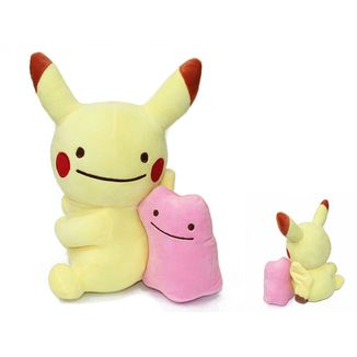 Pikachu Ditto Plush Doll Pokemon 30 cms
