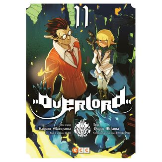 Overlord #11 Manga Oficial ECC Ediciones
