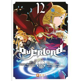 Overlord #12 (Spanish) Manga Oficial ECC Ediciones