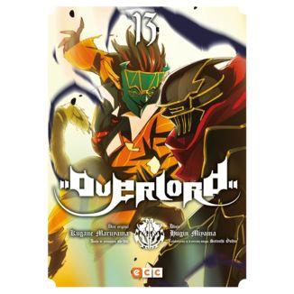 Overlord #13 Manga Oficial ECC Ediciones (Spanish)