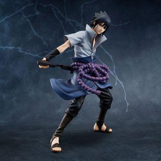 Figura Sasuke Uchiha Naruto Shippuden G.E.M.