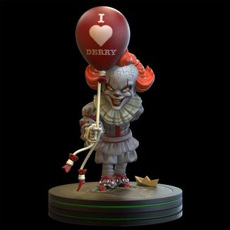 Figura Pennywise Stephen King's IT QFig 15cm