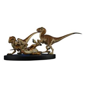 Crash McCreery's Baby Raptors Statue Jurassic Park