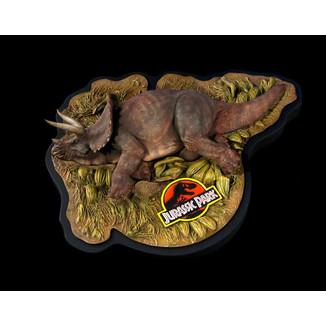 Sick Triceratops Statue Jurassic Park