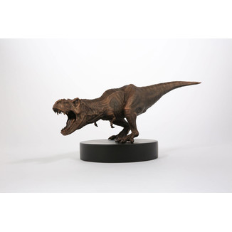 Bronze T-Rex Statue Jurassic Park