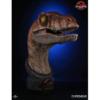 Male Raptor Bust Jurassic Park 2