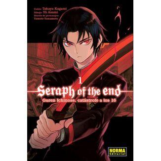 Seraph Of The End: Guren Ichinose, Catástrofe A Los Dieciséis #01 Manga Oficial Norma Editorial