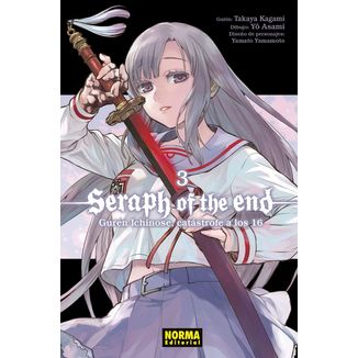 Seraph Of The End: Guren Ichinose, Catástrofe A Los Dieciséis #03 Manga Oficial Norma Editorial