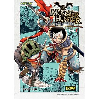 Monster Hunter Epic #01 Manga Oficial Norma Editorial (spanish)