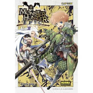 Monster Hunter Epic #02 Manga Oficial Norma Editorial (spanish)