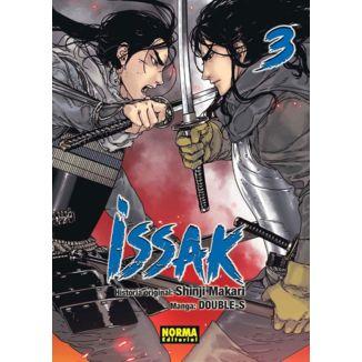 Issak #03 Manga Oficial Norma Editorial (spanish)