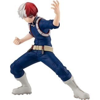 Shoto Todoroki Hero Costume Figure My Hero Academia Pop Up Parade