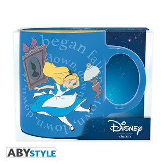 Alice in Wonderland Blue Mug Disney