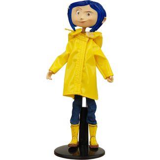 Figura Coraline Bendy Doll  Raincoats & Boots Coraline