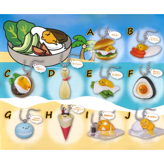 Gudetama Gashapon Food Mascot vol 2