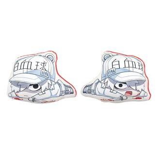 White Blood Cell Plush Cushion Cells at Work