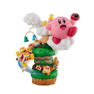 Kirby Figure Super Star Gourmet Race