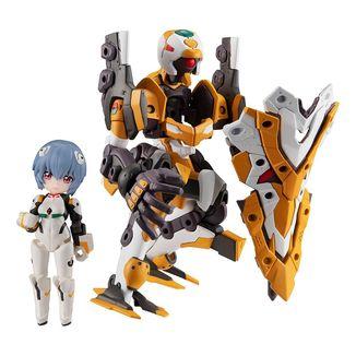 Rei Ayanami & Eva No. 0 Figure Evangelion Desktop Army