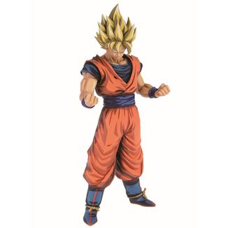 Son Goku SS Figure Dragon Ball Z Grandista Manga Dimensions
