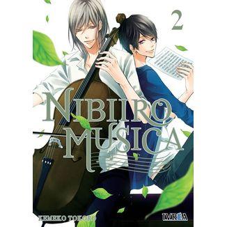 Nibiiro Musica #02 Manga Oficial Editorial Ivrea