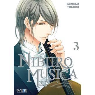 Nibiiro Musica #03 Manga Oficial Editorial Ivrea