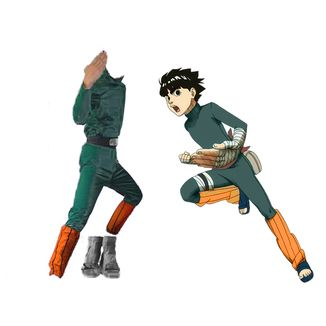 Cosplay Rock Lee Naruto