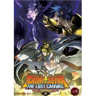The Lost Canvas Season 2 Vol. 2 Saint Seiya DVD