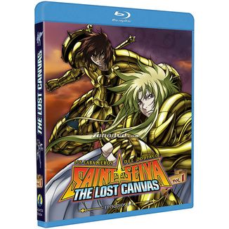 The Lost Canvas Season 1 Vol. 1 Saint Seiya Bluray