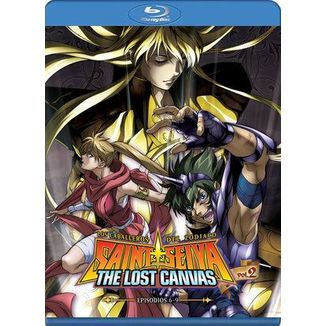 Saint Seiya The Lost Canvas Temporada 1 Vol. 2 Bluray