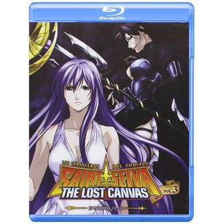 The Lost Canvas Season 1 Vol. 3 Saint Seiya Bluray