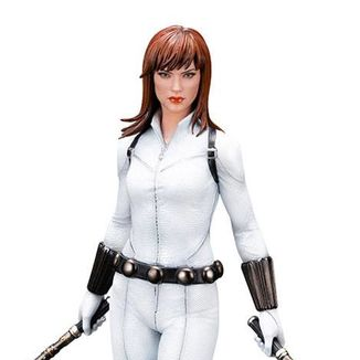 Figura Viuda Negra White Costume Limited Edition Marvel Comics ARTFX Premier
