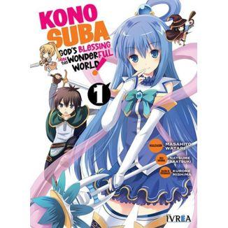 Konosuba #01 Manga Oficial Ivrea