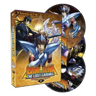 The Lost Canvas Season 2 Saint Seiya DVD