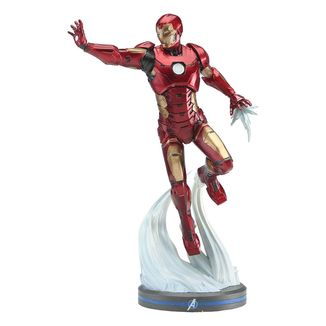 Figura Iron Man Vengadores 2020 Video Game Marvel Comics