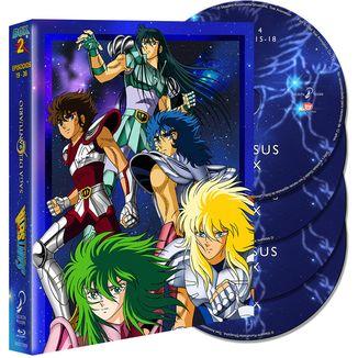 Saint Seiya Saga del Santuario Box 2 DVD