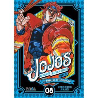 Jojo's Bizarre Adventure Stardust Crusaders #08 Manga Oficial Ivrea