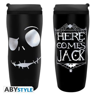 Jack Skellington Travel Tumbler Nightmare Before Christmas