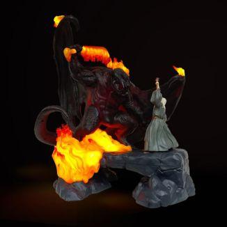 Lampara 3D Balrog VS Gandalf El Señor De Los Anillos