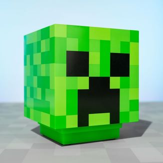 3D Lamp Creeper Minecraft
