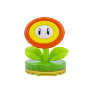 Fire Flower Icon Light 3D Lamp Nintendo