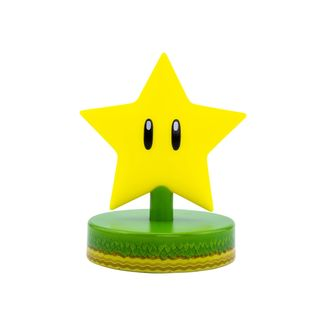 Lampara 3D Super Estrella Icon Light Super Mario Nintento