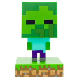 3D Lamps Zombie Minecraft