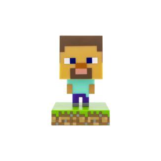 Lampara 3D Steve Minecraft